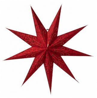 Ludwig Julstjärna Röd 100 cm