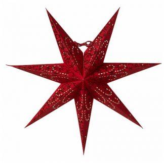 Ludwig Julstjärna Röd 44 cm