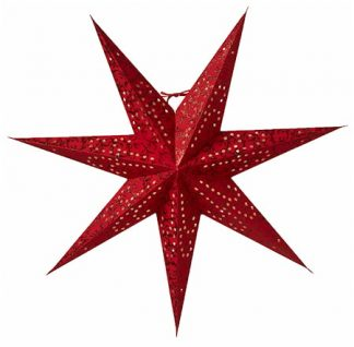 Ludwig Julstjärna Röd 80 cm