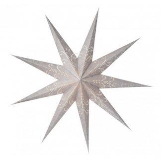 Ludwig Julstjärna Silver 118 cm