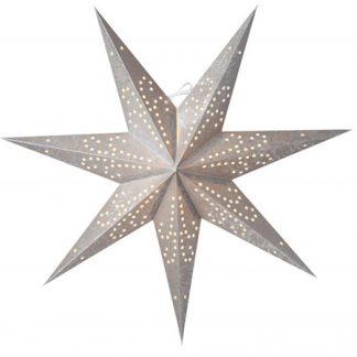 Ludwig Julstjärna Silver 80 cm