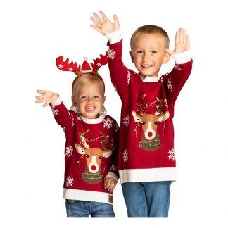Reindeer Jultröja för Barn - Small