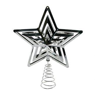 Toppstjärna Silver/Glitter