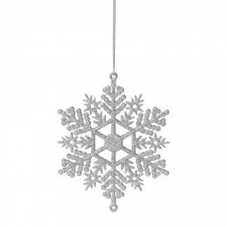 Hängande ornament Snöflingor 6-pack