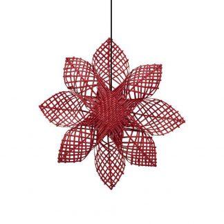 Julstjärna Anna Star Röd