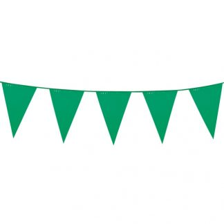Flaggirlang Grön