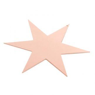 Stjärna 17cm Koppar