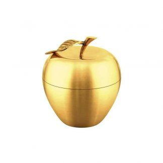 Äpple förvaringsask i mässing