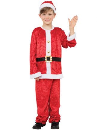 Santa Boy Tomtedräkt Barn