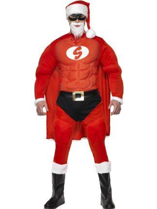 Tomtedräkt Super Santa