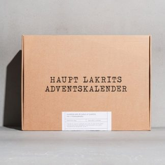 Adventskalender med lakrits 2021 - Haupt, Lakrits