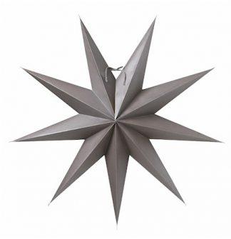 Boris Julstjärna Mörkgrå 70 cm