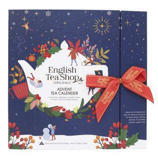 English Teashop - Advent Tea Calendar Eko Blå