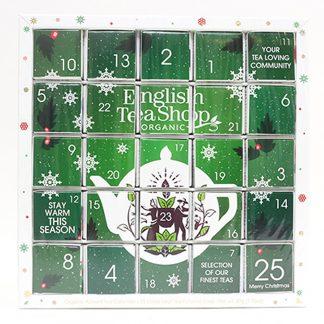 English Teashop - Advent Tea Calendar Eko Grön
