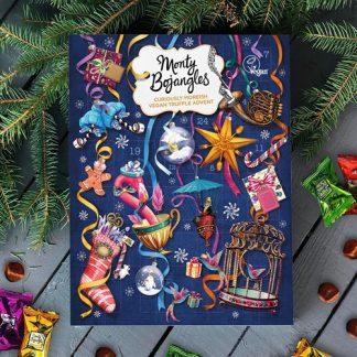 Julkalender med veganska chokladtryfflar - Monty Bojangles, Multi
