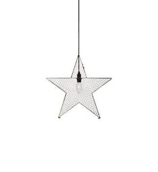 Julstjärna Bynäs i metall 50cm Grå