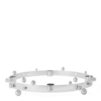 Oyoy - Adventsljusstake Pearl 33 cm Silver