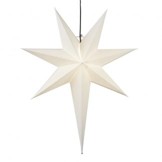 Star Trading - Frozen Julstjärna 55 cm Vit