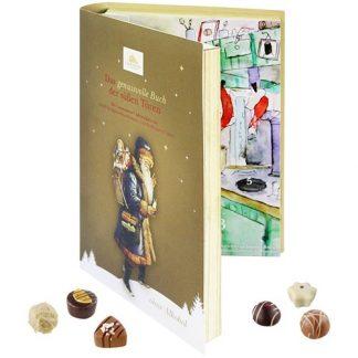 Adventskalender Bok - Choklad, 2021