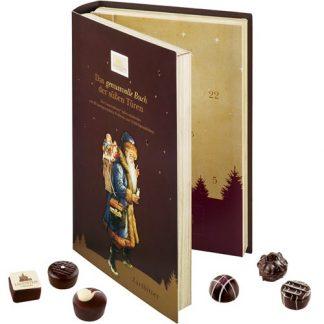Adventskalender Bok - Mörk choklad, 2021