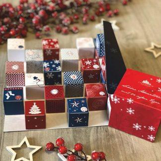 Chokladkalender, Winter Cubes - Lauenstein, 2021