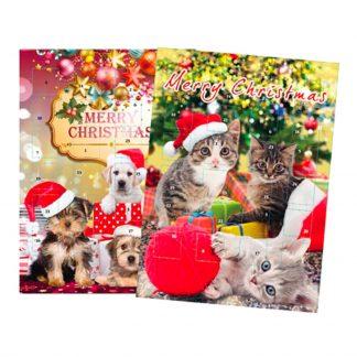 Hund & Katt Chokladkalender - Katt