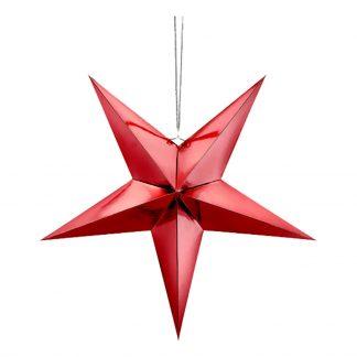 Julstjärna Röd - 45 cm