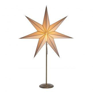 Star Trading - Star Trading Nicolas Julstjärna På Fot Mässing